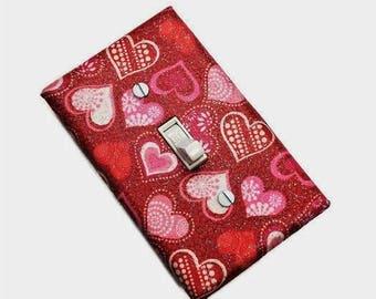 Valentine's Day Decor | Valentine Heart Decor | Decorative Light Switch Cover | Valentine's Home Decor | Suiteplat