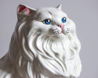 Vintage Ceramic  Persian Cat
