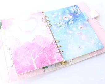 Planner Binder Divider In A5 Personal Size, Kawaii Notebook Paper Organize Planning Basics Goal Bullet Journal Kikki K Filofax FWAAAB