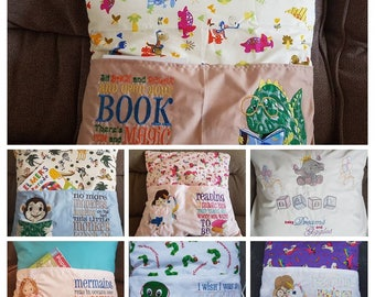 Childrens reading cushions