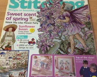 The World of Cross Stitching issue 84 May 2004 FREEPOST UK