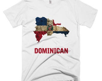 """The Dominican Republic """"Dominican"""" T-Shirt (mens fitted)"""