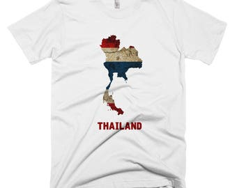 The Thailand Flag T-Shirt (mens fitted)