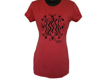 Red SMMP Sun Tee - Women's - Large