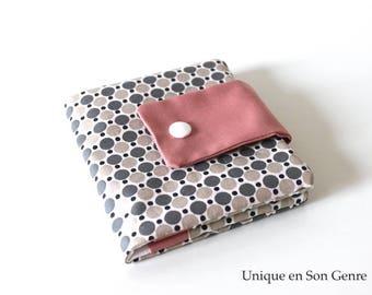 Pink wallet soft unique of its kind