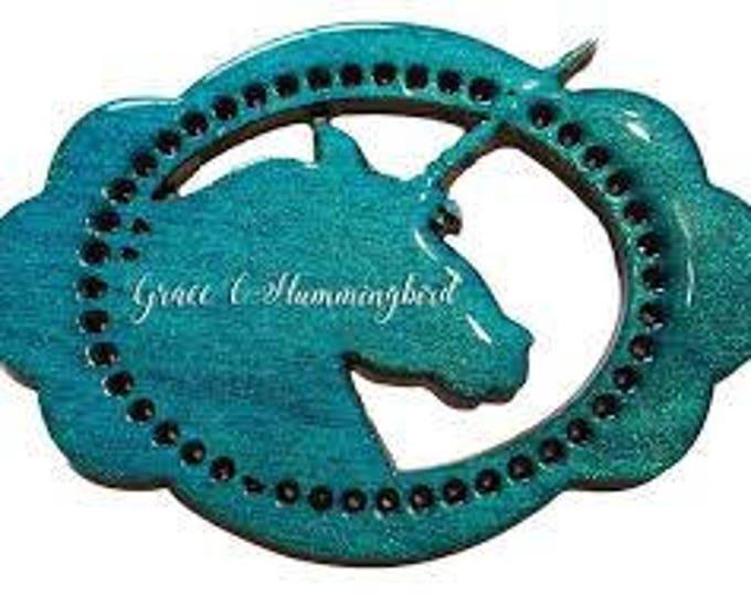 Unicorn Sparkling Stain in Grace C Hummingbird