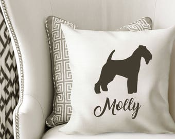 Personalized WELSH TERRIER Pillow Cover