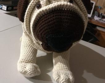 Crocheted Stuffed Puppy