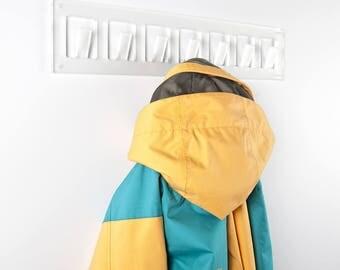 Acrylic Wall Mounting Coat Rack | Perspex Coat Hanger | Premium Perspex Acrylic | Manufactured in the UK