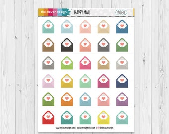 Happy Mail Planner Stickers | Mail Planner Stickers | 17355-03