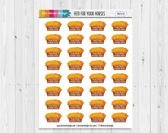 Horse Feed | Feed for your Horses | Purchase Horse Feed | Planner Stickers | 18023-01