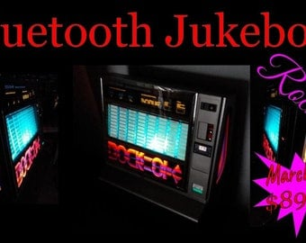 Bluetooth Jukebox in Original Rockola 488 Jukeboxes
