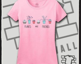 Plants are Friends, Plant shirt, Plant shirt for women, crazy plant lady, crazy plant lady shirt, garden, garden shirt, gardening tshirt