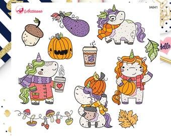 Animal Die Cuts - Unicorn Die Cuts - Autumn Die Cuts - Fall Die Cuts - Bullet Journal - Journaling Paper - Paper Die Cuts - Planner Die Cuts