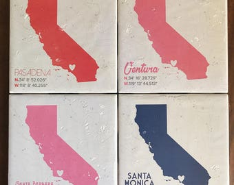 Candle Coaster || California