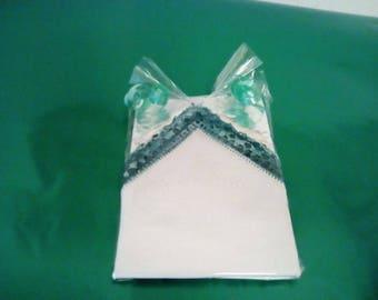 Vintage, Handkerchiefs, wedding handkerchiefs, baby handkerchiefs, gift, lace handkerchief, crocheted handkerchief, top coaster