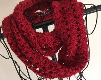 Ready to ship // adult // womens // teen // crochet scarf // winter