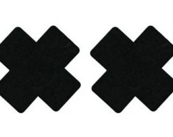 Cross Nipple Sticker Disposable Pasties