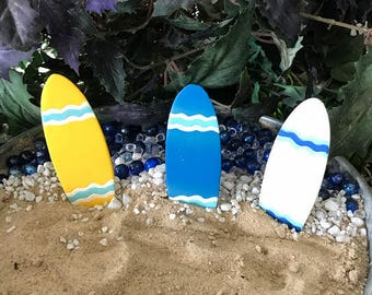 Miniature Surf Boards - Choose from 3 Colors!