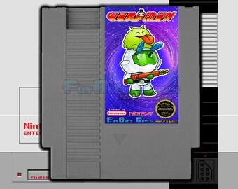 "SPECIAL ORDER! ""Warpman"" Unreleased Nintendo NES Arcade Shooter Warp Warp!!"