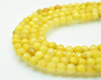 Natural Agate Gemstone Beads Faceted Round Beads 6mm Natural Stones Beads Healing chakra stones Jewelry Making Item# 789222065218