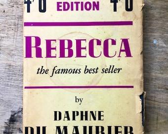 Rebecca, Daphne du maurier, vintage thriller, classic novel, English thriller, Jamaica Inn, best seller book, cornwall book, Olivier,