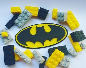 Bat and brick cake kit