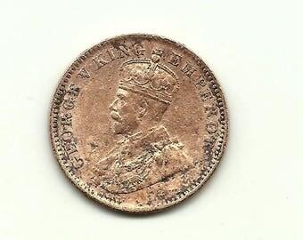 Sailana State India 1/4 Anna 1912 King George V
