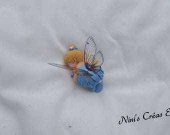 Baby fairy Polymer Clay figurine