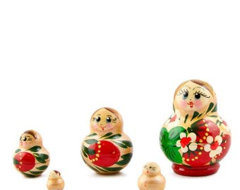 "1.75"" Set of 5 Margarita Russian Nesting Dolls Matryoshka"