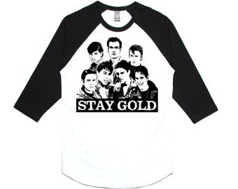 STAY GOLD RAGLAN