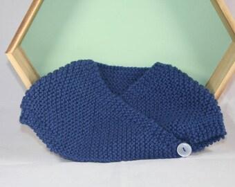 handmade Navy Blue Bolero sleeveless baby size newborn