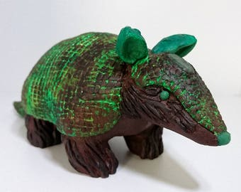 Tree Minerillo Armadillo sculpture figurine ornament