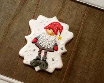 Christmas Elf - Single Cookie - Can be added to any cookie order