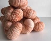 Sock Hand Dyed Australian 80/20 Merino nylon Revelry Sock Fingering 4 ply Knitting Yarn Cinnamon Bittern