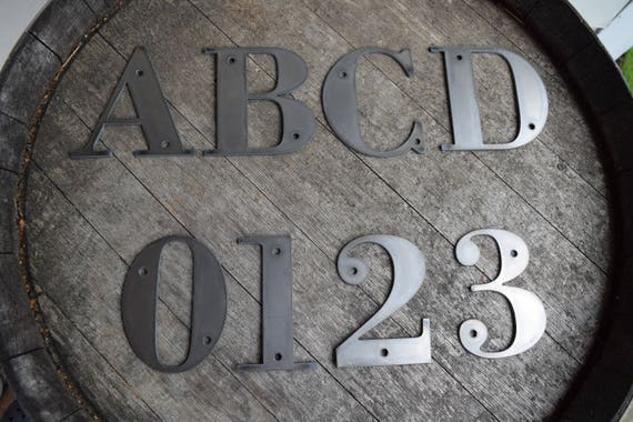 Tall Metal Letters 412 Tall Metal Letters And Numbers Rustic Letters