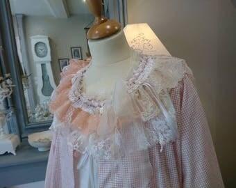 COLLAR FANTINE romantic lace, Victorian, chabby chic, Bohemian, hippie Gypsy