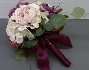 Purple/Pink Bridal Bouquet