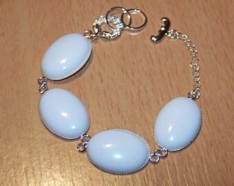 Snow Opal bracelet