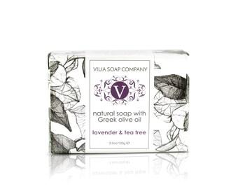 Lavender & Tea Tree Bar Soap