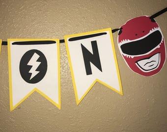 Power Rangers Banner