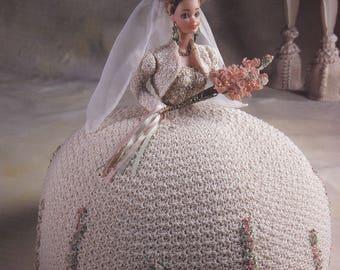 Miss August, Annie's Attic Bridal Belle Crochet Fashion Doll Clothes Pattern Booklet