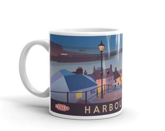 Whitby - Harbour Town - Mug