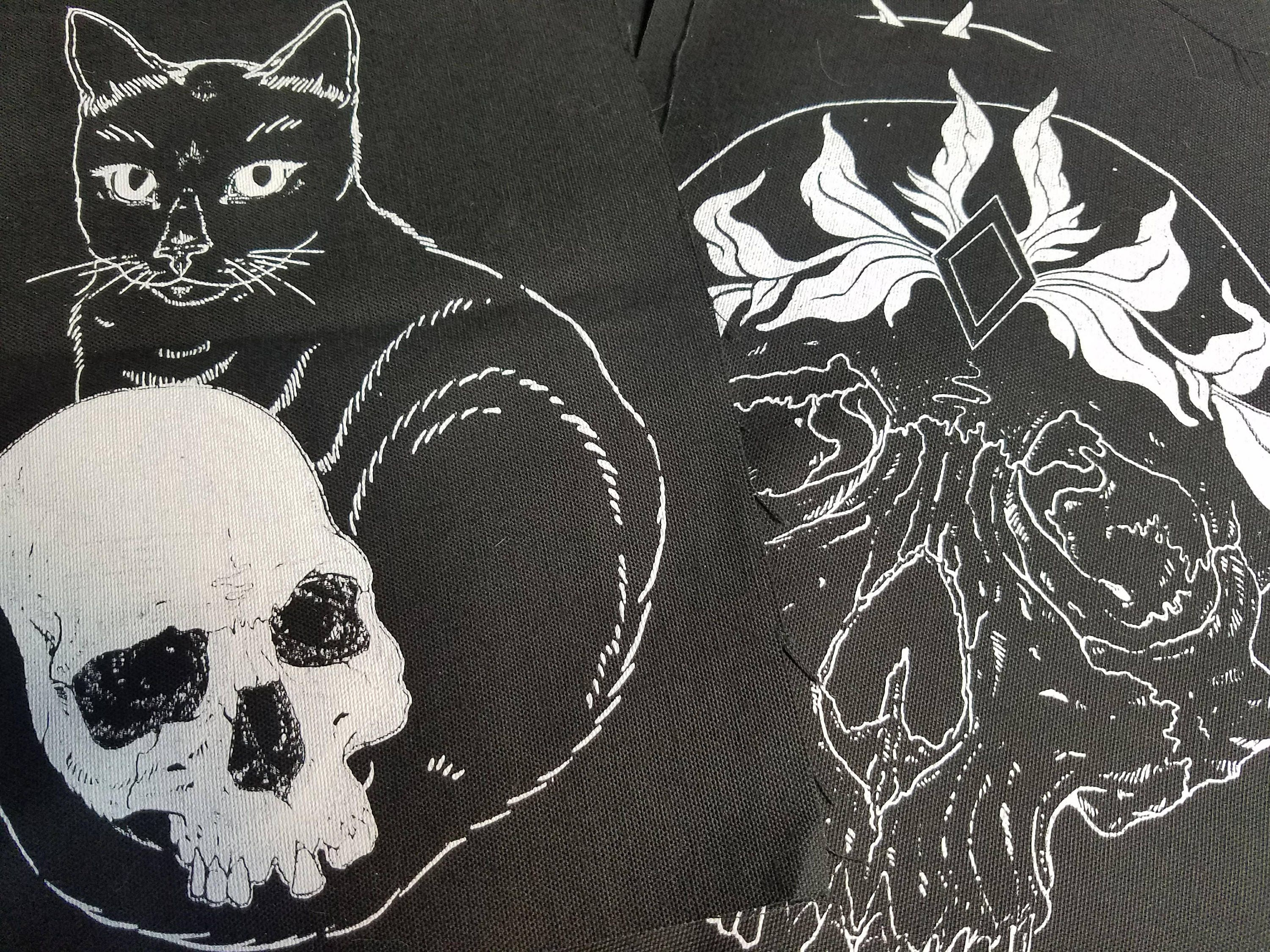 MISPRINTED Back Patches