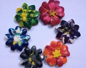 Flower Crayons