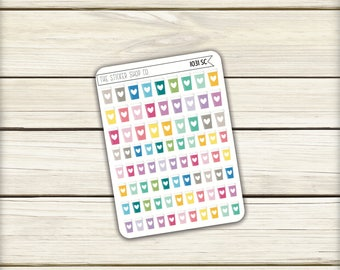 I031   Coffee Cup Icons [Planner Stickers 82MS]