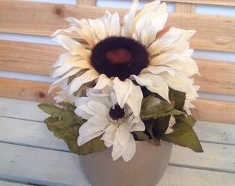 Fall Floral Arrangement, Sunflower Arrangement, Thanksgiving Arrangement, Fall Centerpiece, Thanksgiving Centerpiece, Fall Wedding