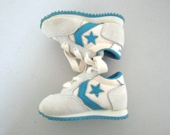 Size 1 - Vintage Converse Sneakers for Infant Boy or Girl, Excellent Condition