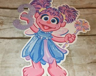 Abby Cadabby Sesame Street Birthday Party Cake Topper/Party Decor