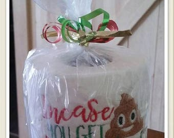 Christmas Novelty Toilet Paper. Gag Gift